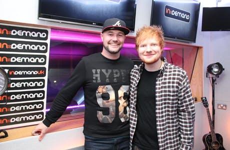 In Demand Ed Sheeran