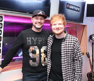 In Demand Ed Sheeran