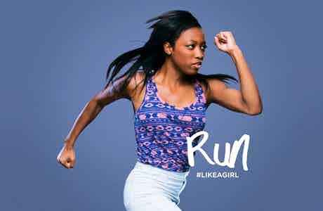Always like a girl run