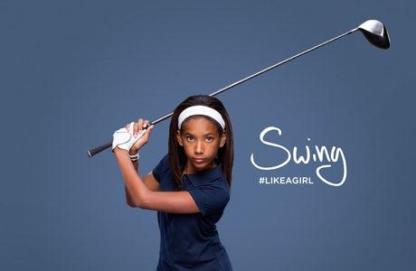 Always like a girl swing