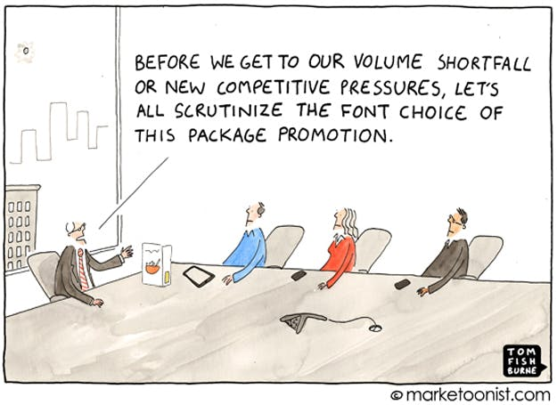 Priorities The Marketoonist