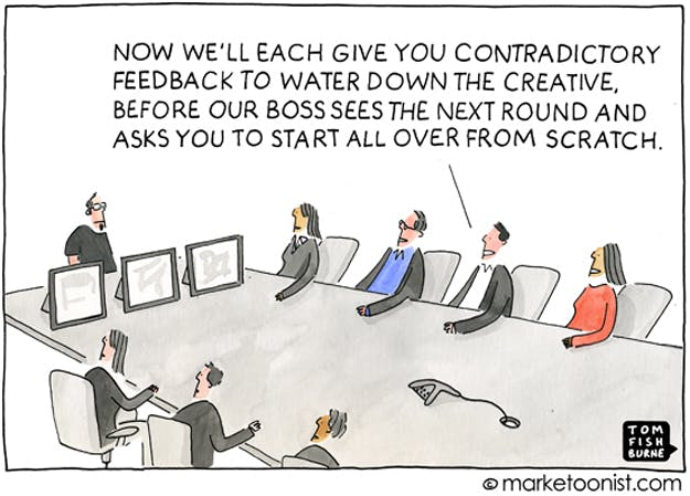 The creative process, the Marketoonist 23 7 14