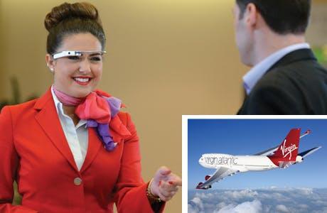 Virgin Atlantic technology