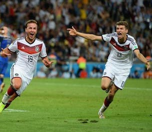 Germany win World Cup