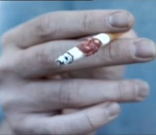 NHS Smoke Free ad