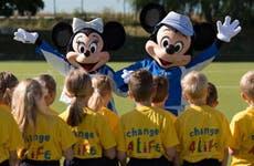 Disney Change4Life campaign