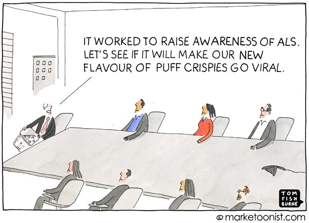 Ice Bucket Challenge, the Marketoonist