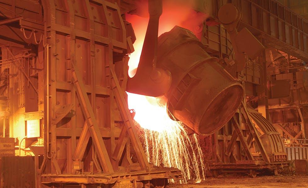 Tata Steel metalworks