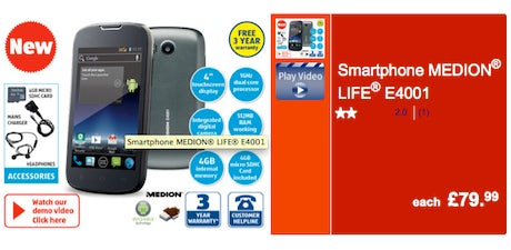 aldi smartphone 2014 460