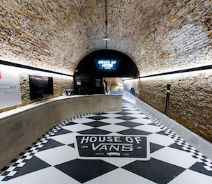 99880ca8ad Vans looks to prove creative credentials with London event space ...