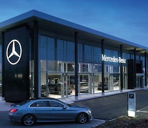 Mercedes benz aims for brand consistency as it revamps for Mercedes benz corporate