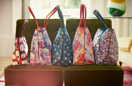 Cath Kidston tote bag range