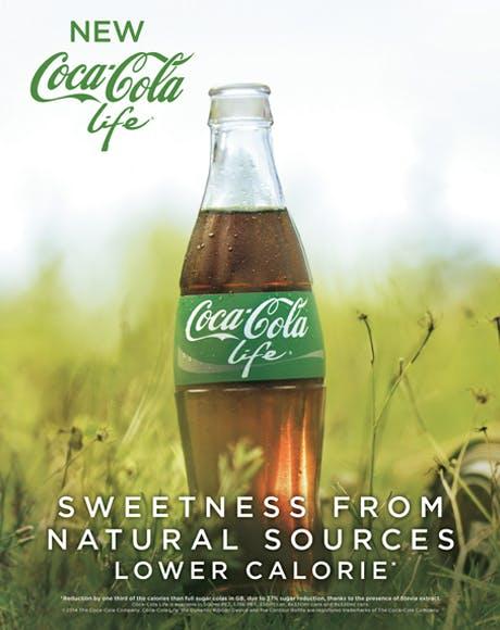 Coca cola life full ad