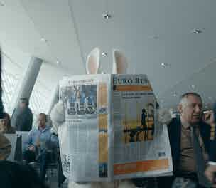Easyjet rabbit waiting lounge index