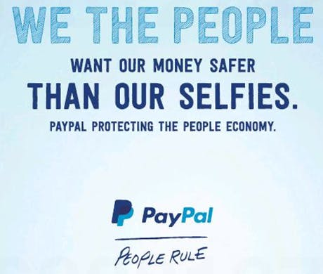 PayPal new york times ad