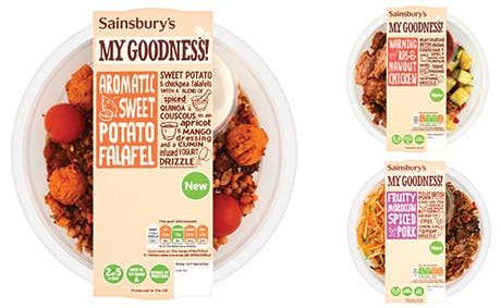 Sainsburys My goodness range