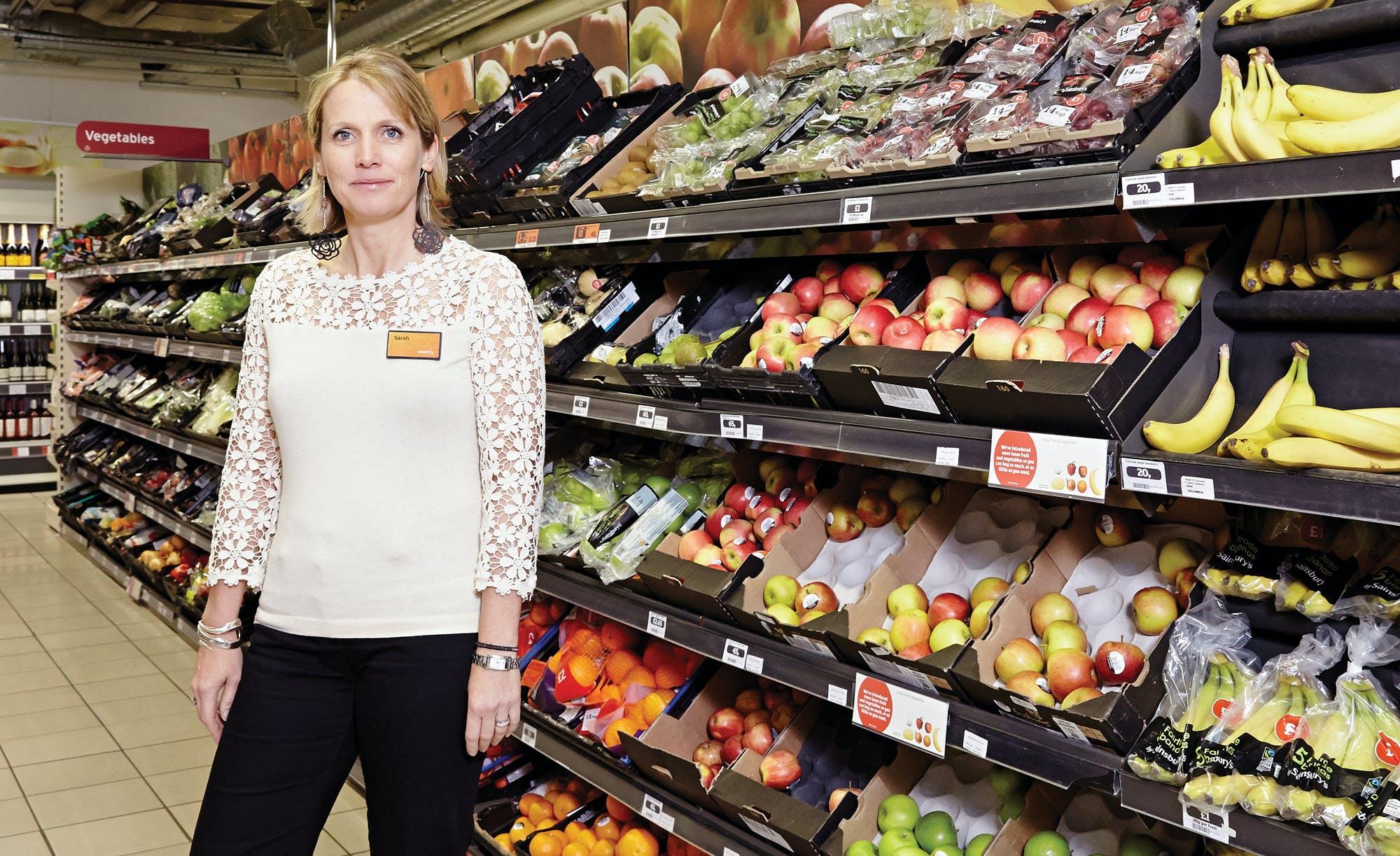 Sarah Warby, Sainsburys