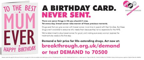 breakthrough breast cancer drugs campaign 2014 460