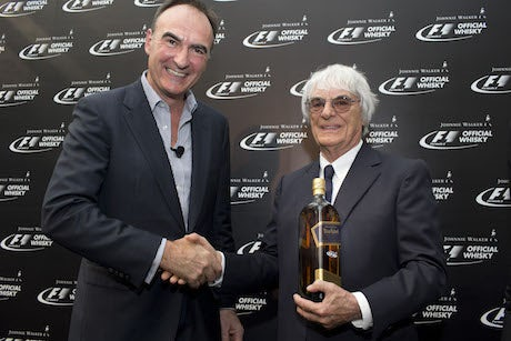 Formula 1 Johnnie Walker