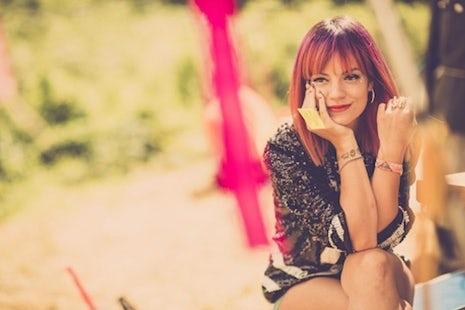 Lily Allen, Samsung