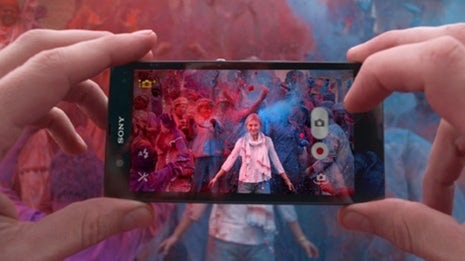 Sony mobile ad