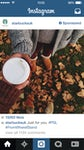 Starbucks Instagram ad