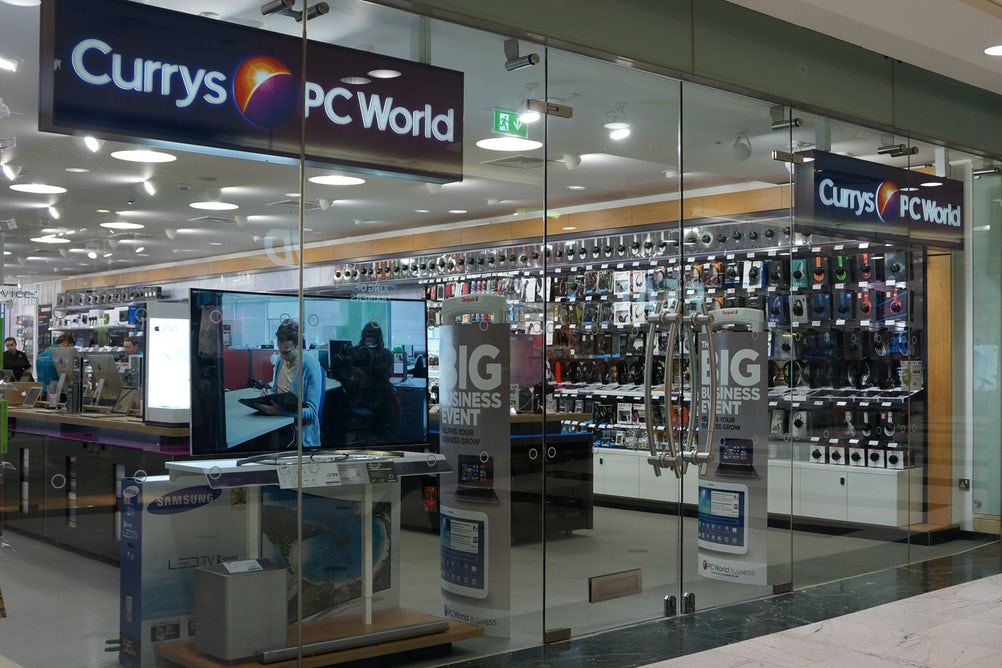 Currys PC World is looking to boost sales of mobile devices from its bricks and mortar stores.