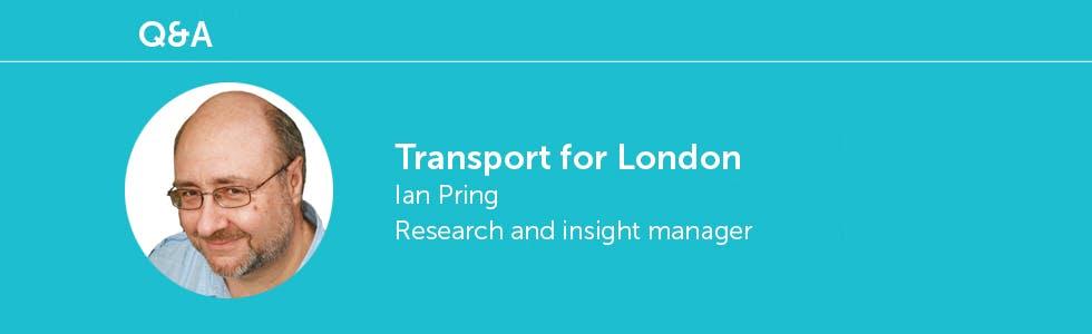 Ian Pring, TFL