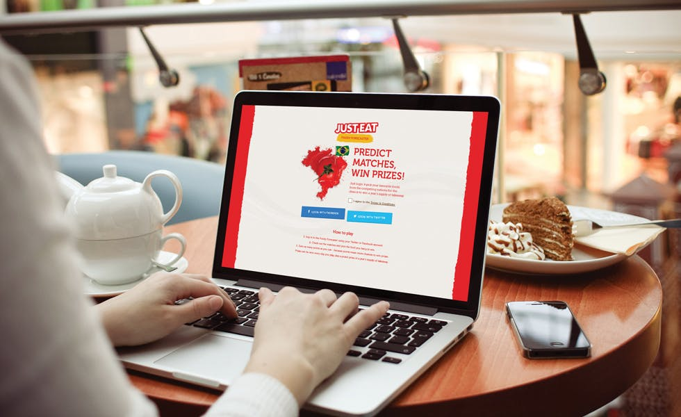 Just Eat online initiatives