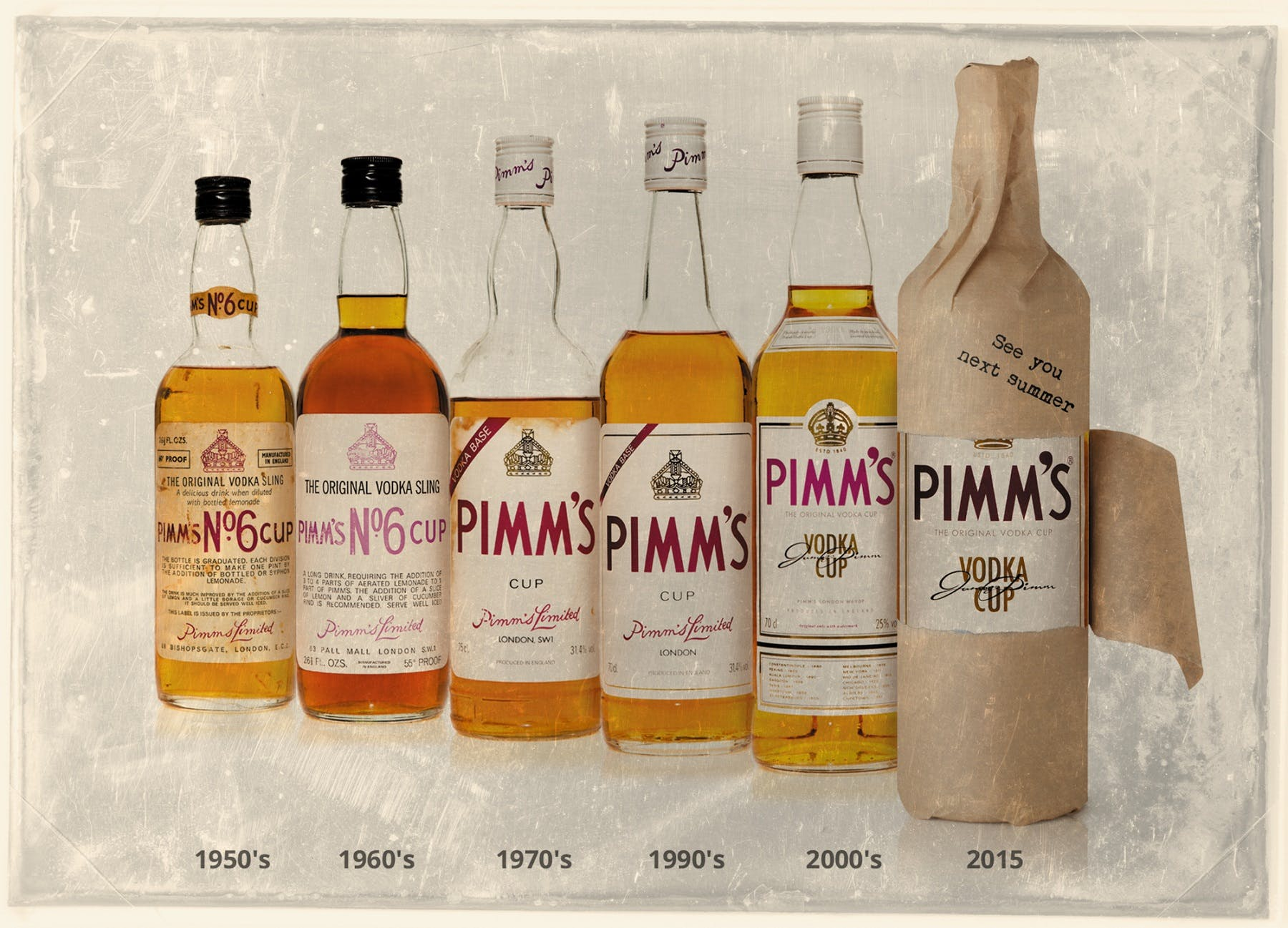 Diageo will sell Pimm's No.6 Vodka Cup online next summer.