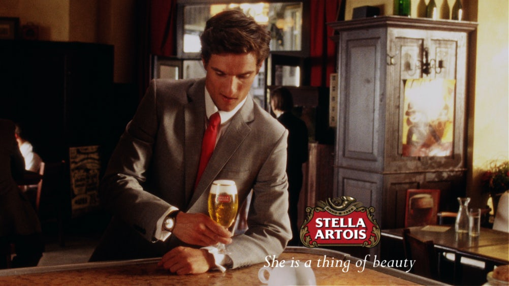 Brands such as Stella Artois will benefit from AB InBev's pan-European media strategy.