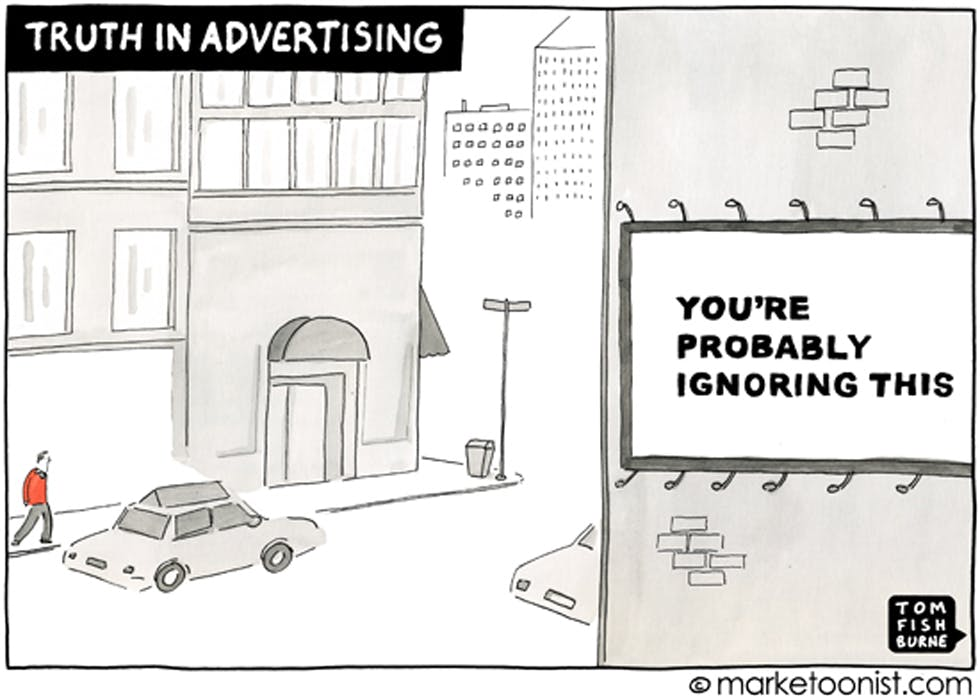 The truth of advertising