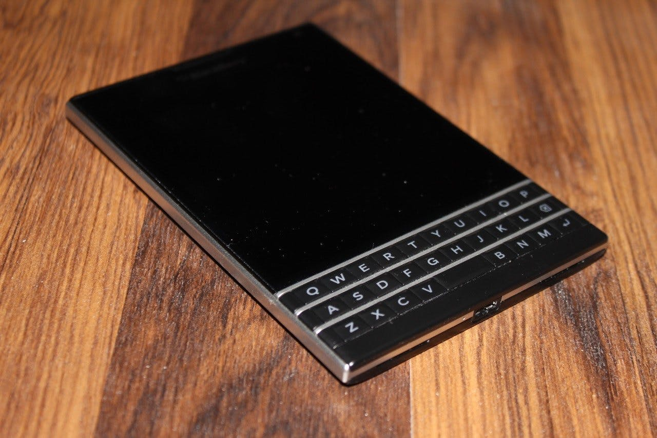 BlackBerry hopes the Passport phone will mark its comeback
