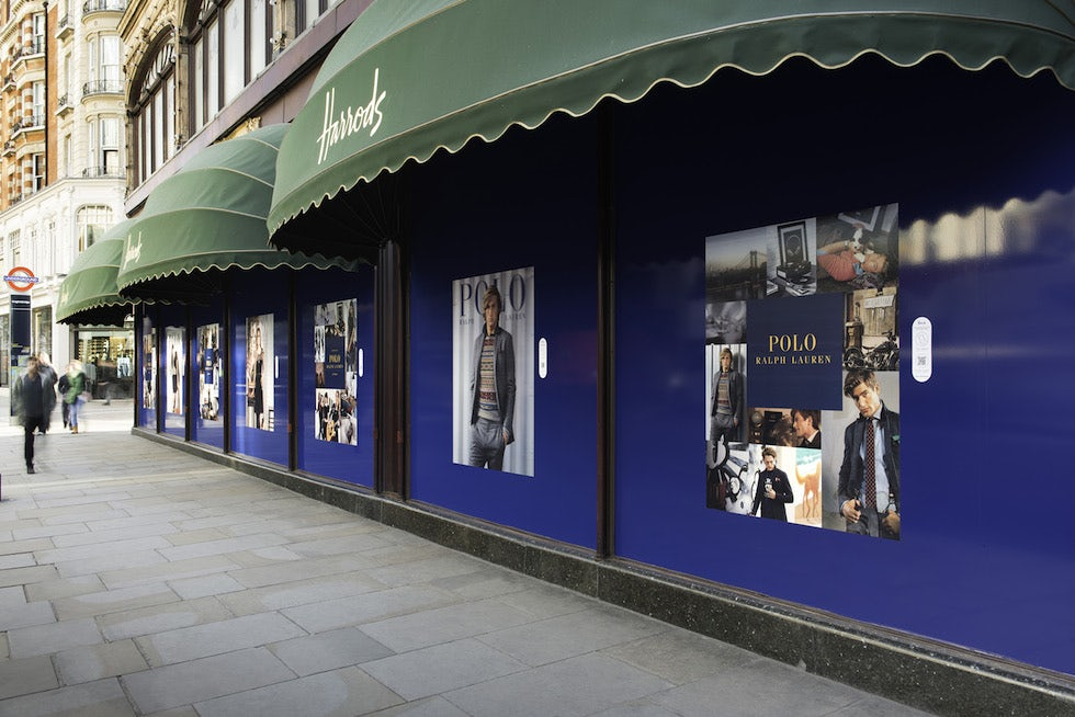 Ralph Lauren is using NFC and QR codes to engage with shoppers at Harrods
