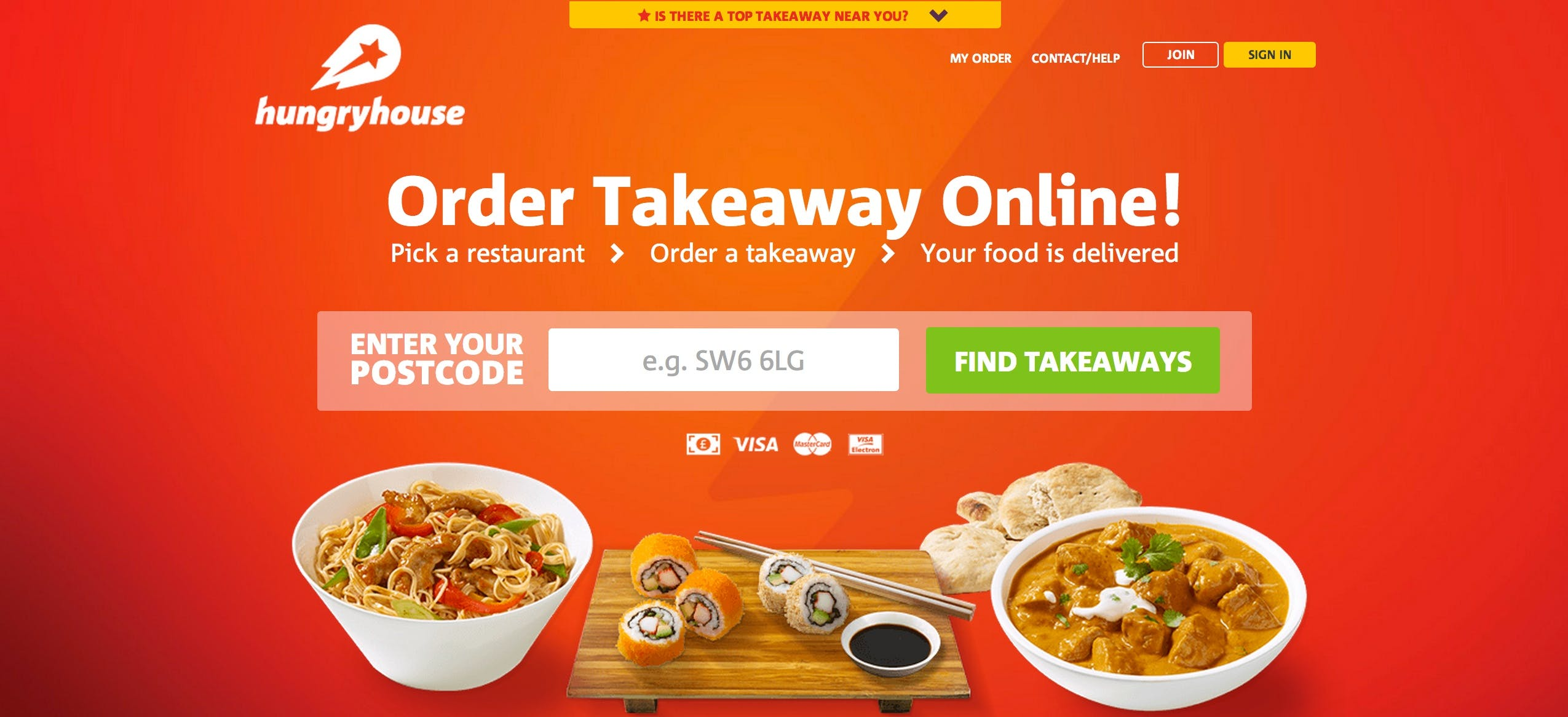 HungryHouse is turning to online merchandising to drive sales conversions.