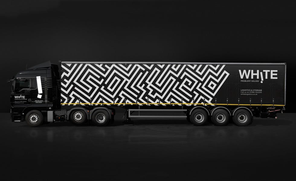 In the six months after it implemented the rebrand, White Logistics saw revenue increase by £500,000