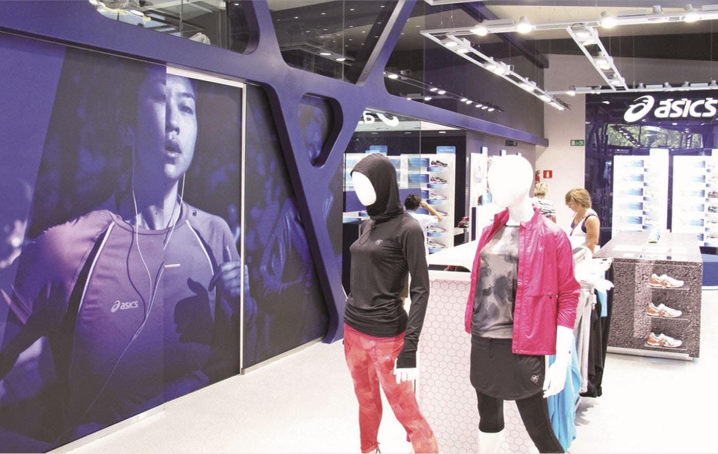 Asics will capture CRM data in stores to fuel its personalisation plans.