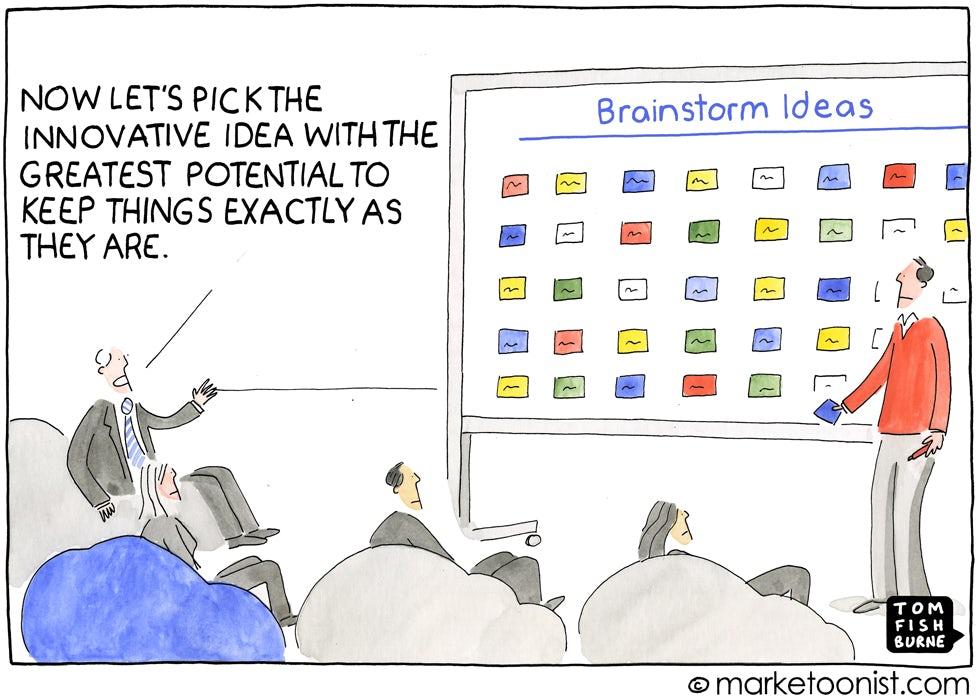 Brainstorm Ideas, The Marketoonist 27 November 2014