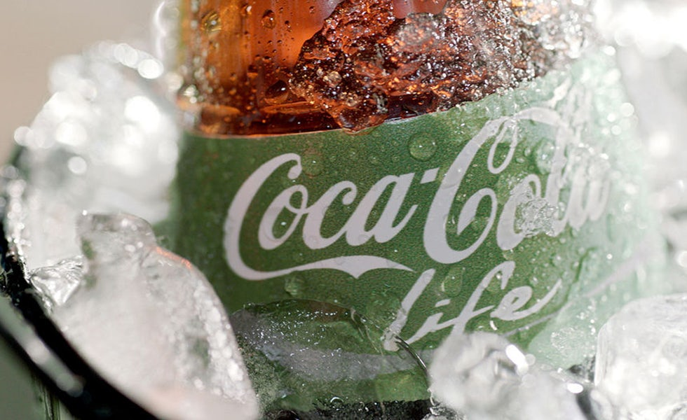 Coca Cola Life sales continue to grow