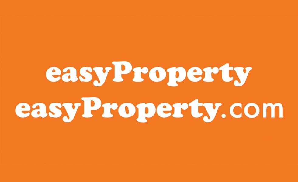 easyProperty's recognisable orange brand