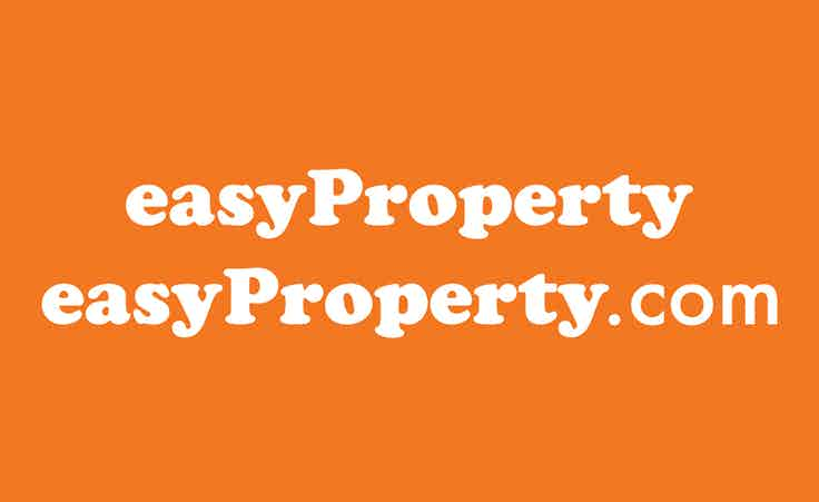 easyProperty's recognisable orange brand