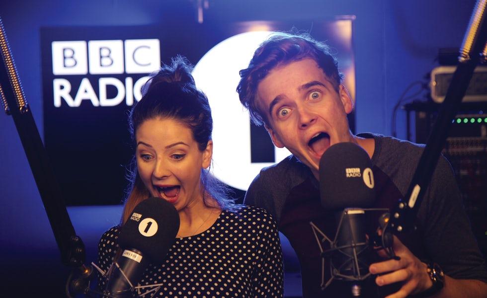 Radio-One-Vloggers-Zoella-and-Thatcher Joe-2015