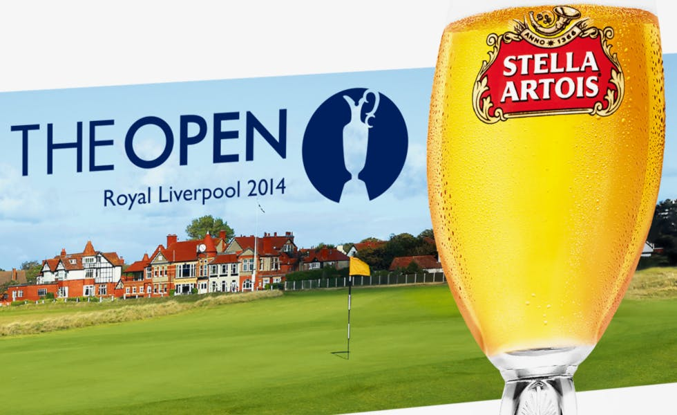 Stella Artois is a sponsor of major sporting events
