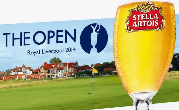 Stella Artois is a sponsor of major sporting events