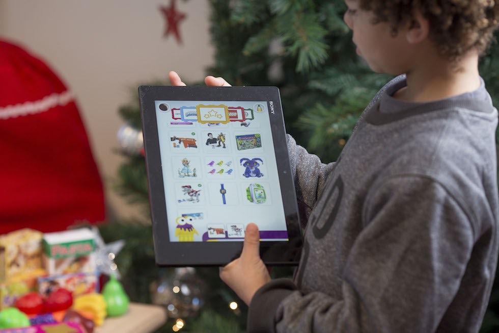 Argos takes the Santa Christmas letter digital with wish list app