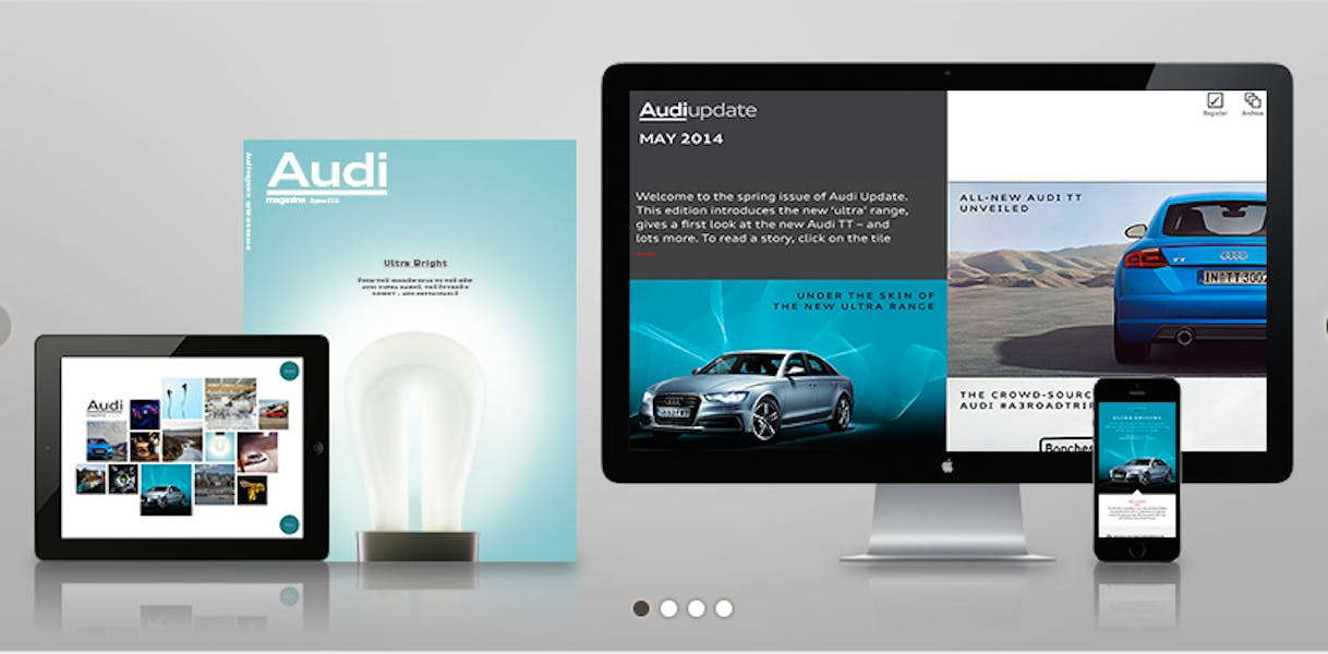 Audi has used content marketing to promote brand loyalty