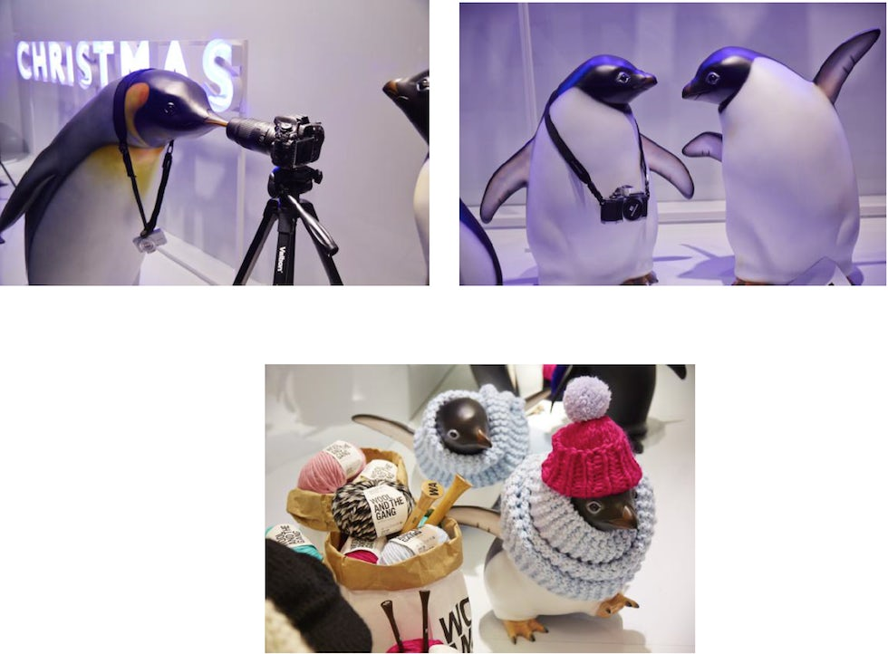 John Lewis is bringing its marketing campaign to the forefront in its window displays for the first time