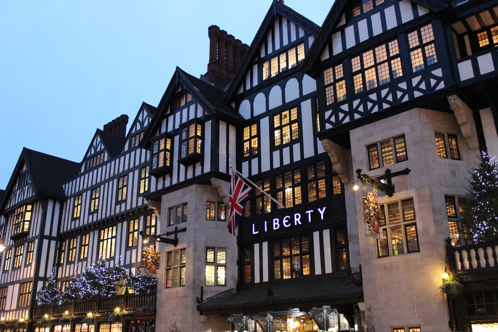 Users of Liberty's new app will be able to access exclusive offers in-store via iBeacons tech.