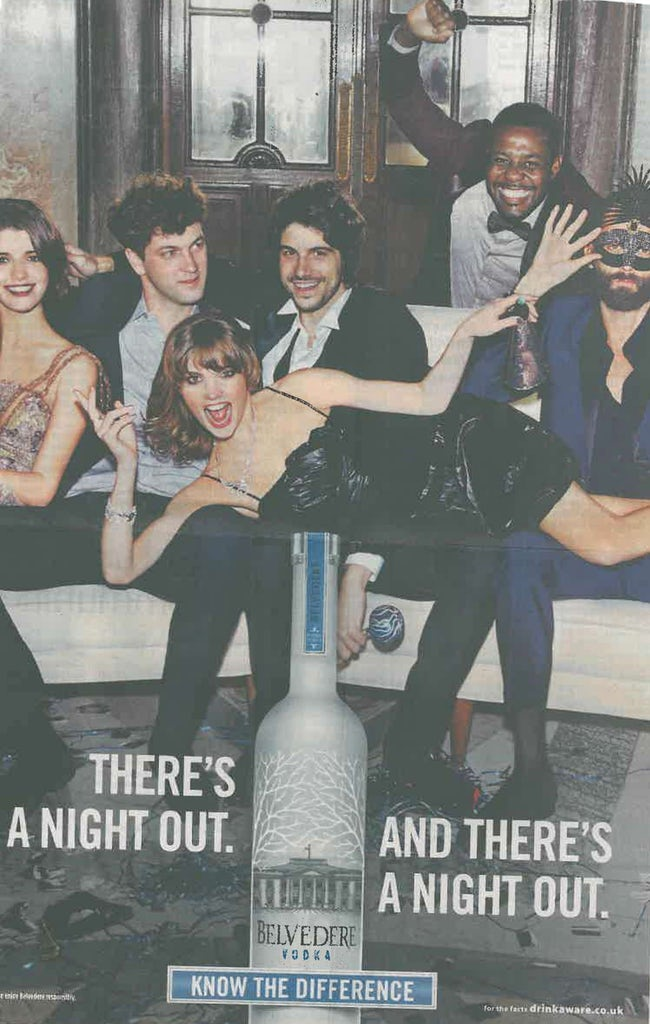 Belvedere Vodka ad- embedded