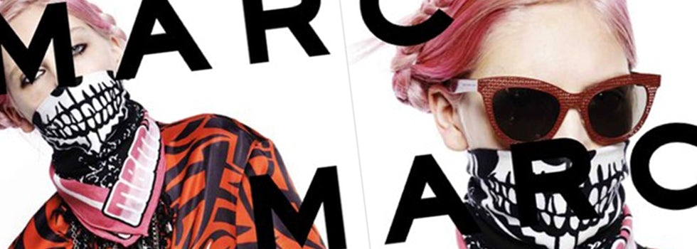 """Marc Jacobs used Twitter and Instagram selfies to cast """"real people"""" in its Fall 2014 campaign."""